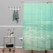 curtains tropical beach shower curtains under the sea bathroom