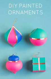 diy painted ornaments design improvised