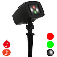halloween strobe light with sound holiday projection lights red green white leds night stars