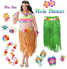 Hula Halloween Costume Economy Complete Costume Sets Size Economy Costumes Sale