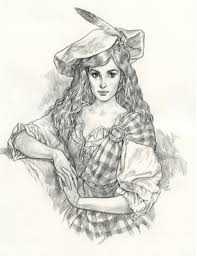 anthony vanarsdale art and illustration scottish pencil drawing