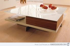 Modern Center Tables Made From Wood Home Design Lover - Wooden table designs images