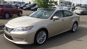 lexus satin cashmere metallic lexus certified pre owned 2013 es 350 gold on parchment