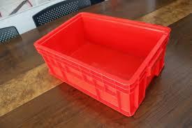 Jual Keranjang Container Plastik Bekas jual keranjang kontainer plastik polos tipe 2246 p green leaf