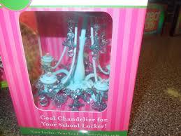 White Locker Chandelier Mini Chandelier For A Locker Wrapped With A Bow Pinterest