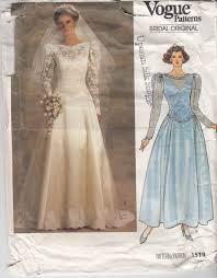 vogue wedding dress patterns 1366 best vintage bridal patterns images on vintage