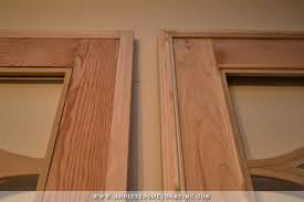 Cabinet Door Trim Oh What A Difference Some Trim Makes