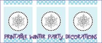 Winter Party Decorations - winter party decorations la woo jr kids activities