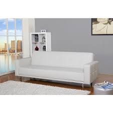 Overstock Sofa Bed Cleveland White Convertible Sofa Bed Free Shipping Today