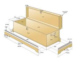 14 000 Woodworking Plans Projects Pdf by Blanket Box Diagram Furniture I Would Like To Make And Things I