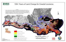 Louisiana On Map by Restoration Post Katrina