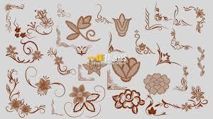 floral ornamental designs brushes fbrushes