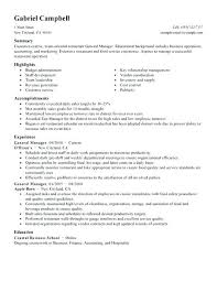 Sample District Manager Resume District Manager Resume Sample Create My Resume Bank Manager
