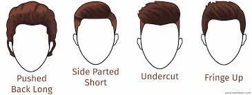 collections of hairstyles for men face shape cute hairstyles