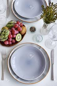 Table Settings For Dinner Captivating Simple Table Settings Gallery Best Idea Home Design