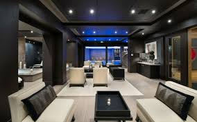 chambre de luxe design architecture lounge bar de chalet luxe ambiance tranquille
