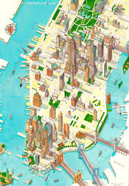 map of new york city with tourist attractions map of ny attractions ambear me