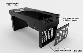 Computer Desk Case Mod Hydra By Enthusiasts For Enthusiasts Indiegogo