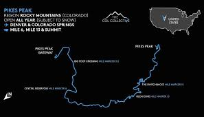gateway colorado map pikes peak col collection the col collective cycling