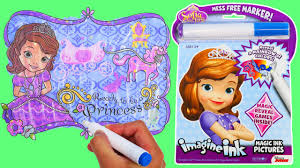 wonderful ideas magic marker coloring book sofia imagine