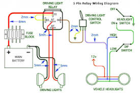 driving lights wiring diagram hilux wiring diagram
