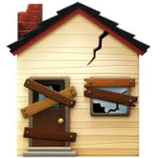 house emoji derelict house emoji u 1f3da