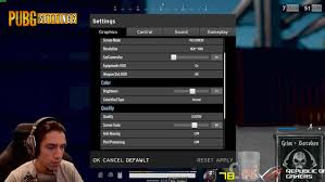 pubg best settings grimmmz pubg settings and setup including dpi and graphics settings