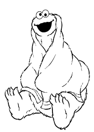 cute baby cookie monster coloring pages coloring sky