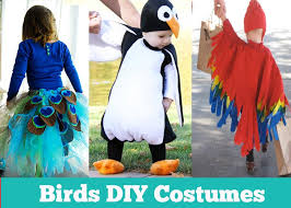 Halloween Costumes Parrots 15 Awesome Diy Halloween Costumes Kids Itsy Bitsy Fun