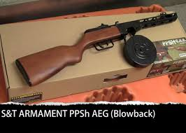 S T Armament Ppsh Blowback Aeg Popular Airsoft