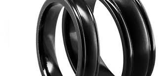titanium wedding bands titanium bridal jewelry by edward mirell titanium wedding rings