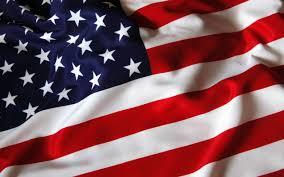 United Staes Flag Top Ten All American Super Heroes