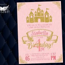best pink princess birthday invitations products on wanelo