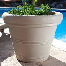 large resin planters outdoor outdoor designs