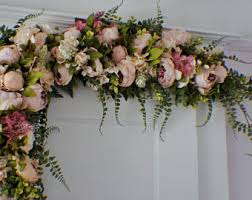 wedding arches in church wedding arch flower etsy
