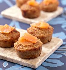 bergamote cuisine bouchées aux flocons de quinoa saumon fumé et citron bergamote