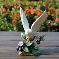 aliexpress com buy ceramic peace dove bird figurines home decor