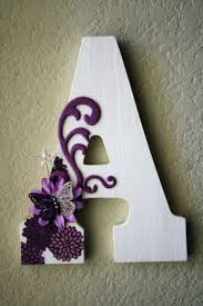 Silver Letters Home Decor by Best 25 Decorate Wooden Letters Ideas On Pinterest Decorating