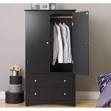 armoires for hanging clothes armoires wardrobe closets for less overstock com