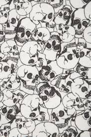 skull wrapping paper lettering letter illustrations by some of my