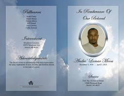 make your own funeral program funeral program template forever with us for the service