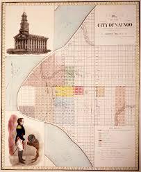 Illinois Map Grant by Nauvoo Illinois U2013 Place