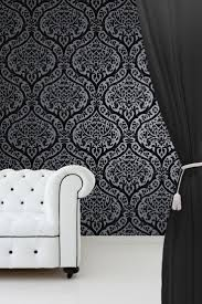 home decor black and white using white wallpaper in home decor interior decorating colors