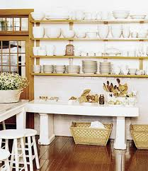 Kitchen Storage Shelves by Retro Modern Kitchen Decorating Ideas Open Kitchen Shelves For