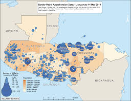 map of guatemala cities these two maps show the violence driving central american children