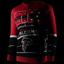 light up sweater atlanta falcons stadium light up sweater fanatics com