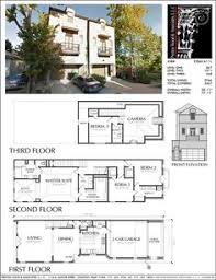Town House Building Plan New Town Home Floor Plans Townhome Building Plans Townhouses
