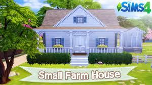 modern farm homes the sims 4 lets build small farm house youtube