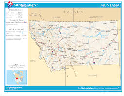 Maps Of Montana Map Of Montana Street Map Worldofmaps Net Online Maps And