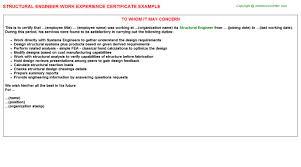 structural engineer job title docs